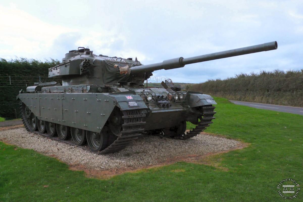 Lulworth Centurion Tank